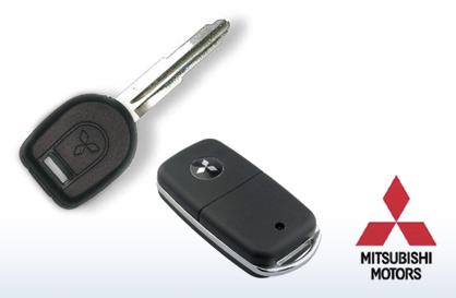 Replacement Key Blank Fits 2001 01 02 03 04 05 06 Mitsubishi Montero Sport